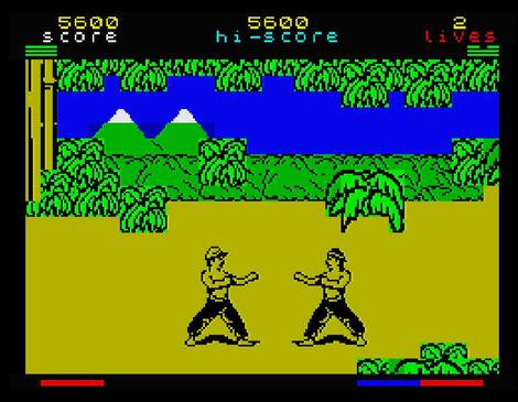 ZX Spectrum:SpecEmu:The Way of Exploding Fist II:Melbourne House:Beam Software Pty., Ltd.:1986:
