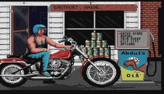 Amiga:WinUAE:Harley Davidson:MindScape:1990
