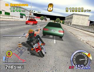 Sega Model III SuperModel Bart Trznadlowski Harley Dawidson