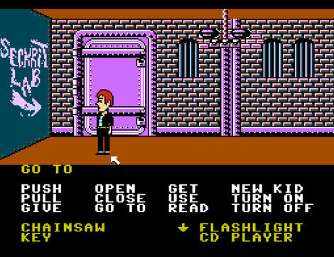 Nintendulator Nintendo Maniac Mansion (USA)