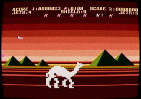 Altirra - Atari - Attack of The Mutant Camels