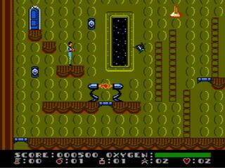 Nintendo 8 FCEU-X Dash Galaxy in the Alien Asylum (USA)