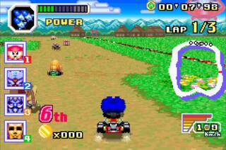 GBA:VBA Rerecoding: Konami Racer