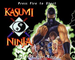 ATARI:Virtual Jaguar:Kasumi Ninja