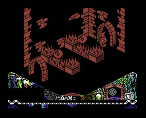 c64:Micro64:Knight Lore (demo preview) KuKuKlax