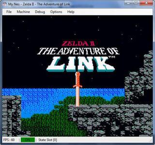 Nintendo 8 Nes MyNes Zelda II The Adventure of Link