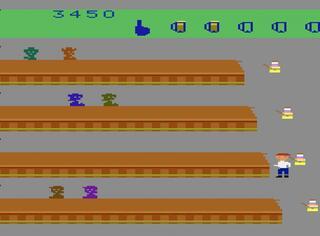 ATARI:VCS2600:Stella:Tapper (SEGA) 1984