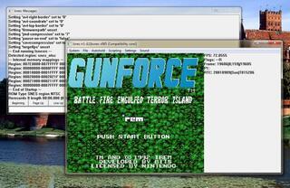 SNES:Lsnes:GunForce