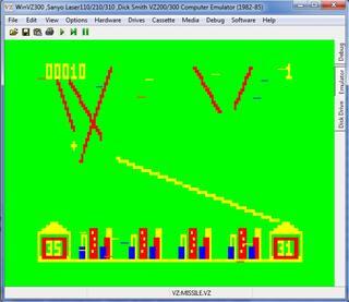 Egzotyczne:WinVZ3000:Laser:Missile Attack