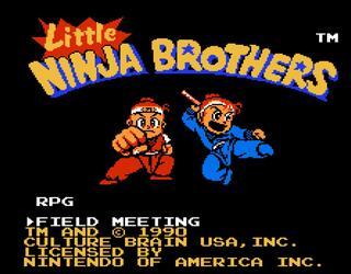 Nes:Nintendo8:FCE:Ultra:Little Ninja Brothers:1990:Culture Brains