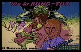 C64:Commodore:Micro64:Yie Ar Kung-Fu II:1987:Konami