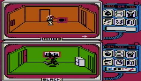 Atari:Altirra:8bit:Spy vs Spy:First Star Software, Inc.:First Star Software, Inc.:1984