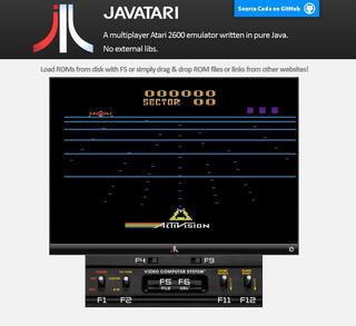 Atari:VCS:2600:Java:JavAtari:WWW:Applet