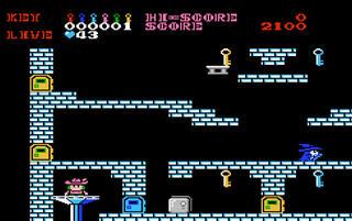 NES:Nintendo8:Famicon:FceUltraX:Castle Quest: