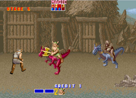 Arcade Final:Burn:Alpha:Golden Axe:SEGA:1989