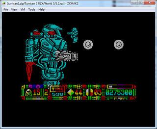 ZX:Spectrum:RZX:ZxMak2:Turrican II: The Final Fight (a.k.a. Turrican 2):RainbowArtsSoftwareGmbH:Factor5GmbH:1991:
