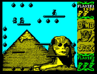 ZX:Spectrum:RZX:ZxMak2:Bomb Jack:Elite Systems Ltd.:Tehkan Ltd.:1986: