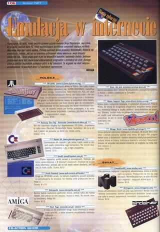 CDA:CD Action:2000:Serwisy Emulacyjne