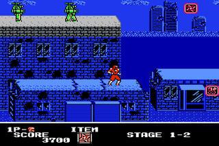 NES:Famicon:FCE Ultra:X:Ninja Crusaders (a.k.a. Ninja Crusaders - Ryūga):AmericanSammyCorporation:NMKCo.Ltd.:Dec, 1990: