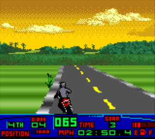 CGB:GB:GameBoy:GearBoy:Color:Nintendo:Harley-Davidson Motor Cycles - Race Across America:Wizard Work:Running Dog Software:2000