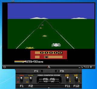 VCS:Atari:2600:JavAtari:Enduro:Quelle:Activision,Inc.:1983: