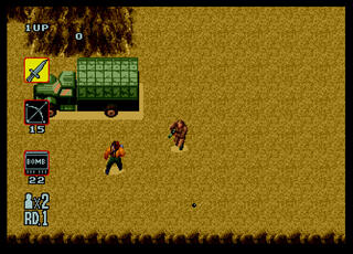 Sega:Genesis:Megadrive:SMD:Dgen:Rambo 3:SEGAEnterprisesLtd.:SEGAEnterprisesLtd.:1990: