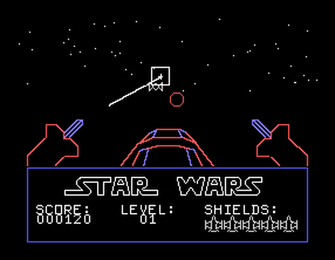 TI:Texas:Instruments:TI99:Star Wars