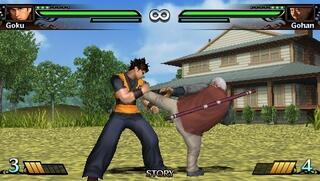 PSP:PPSSPP:Dragonball: