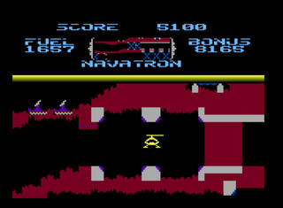 Atari:Altirra:XE:XL:5200:2600:Fort Apocalypse:Synapse Software Corporation:Synapse Software Corporation:1982: