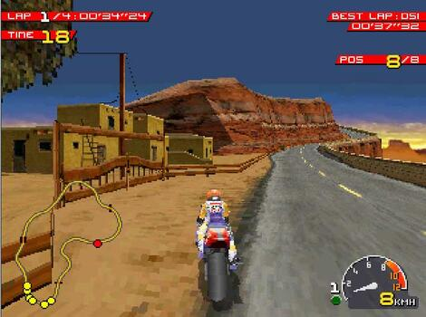 Sony Playstation:PSX:PCSX-RR:Moto Racer:Electronic Arts, Inc.:Delphine Software International:Nov, 1997:
