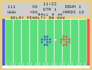 Texas:Instruments:TI:Classic:Football:Texas Instruments:1979
