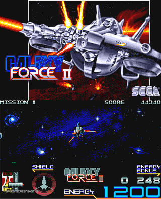 Amiga:FS-UAE:Galaxy Force II:Activision (UK) Limited:AM R&D Dept. #2:1990: