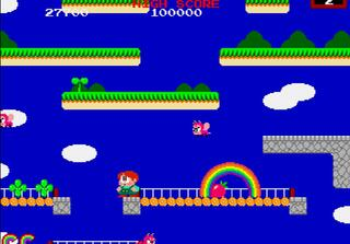 Arcade:Raine:Rainbow Island:Taito:1987