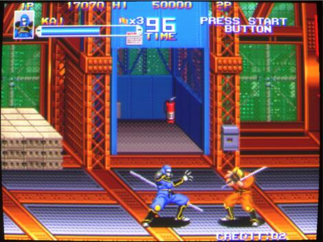 Arcade MameUiFX:Shadow Force II:Technos:1992:
