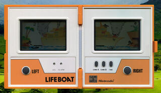 Nintendo:Game&Watch:LifeBoat:Nintendo:1983