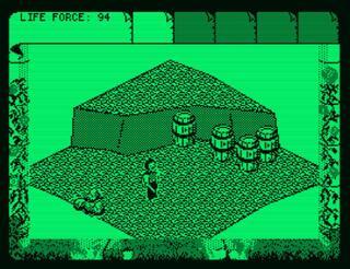 Amstrad:PCW:CP/M Box:Fairlight 2:The Edge Software:1986