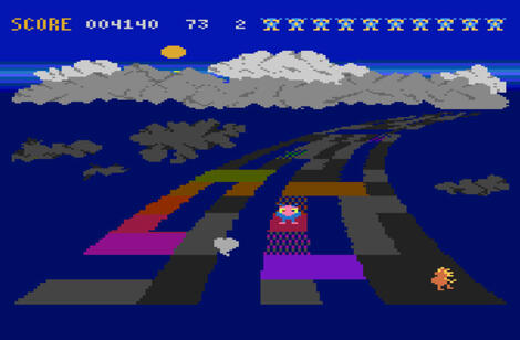 Atari XE:XL:800:Altirra:Rainbow Walker:Synapse Software Corporation:Synapse Software Corporation:1983: