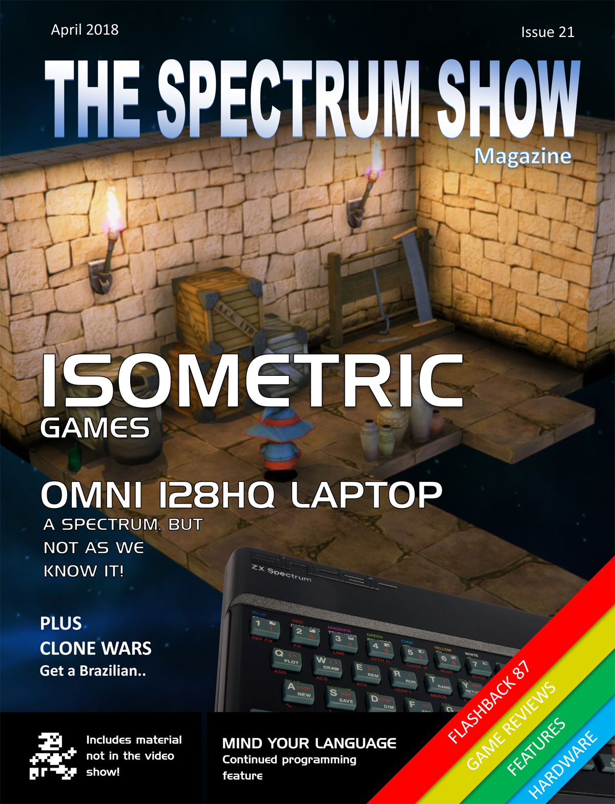 The Spectrum Show 21 cover