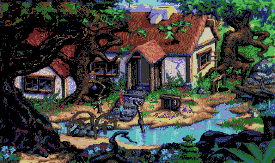 Amiga:TheCompany:King's Quest V: Absence Makes the Heart Go Yonder!:Sierra On-Line, Inc.:Sierra On-Line, Inc.:1991: