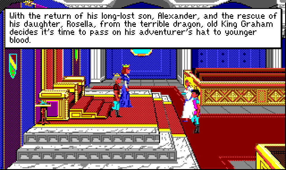 Amiga:TheCompany:King's Quest IV: The Perils of Rosella:Sierra On-Line, Inc.:Sierra On-Line, Inc.:1990: