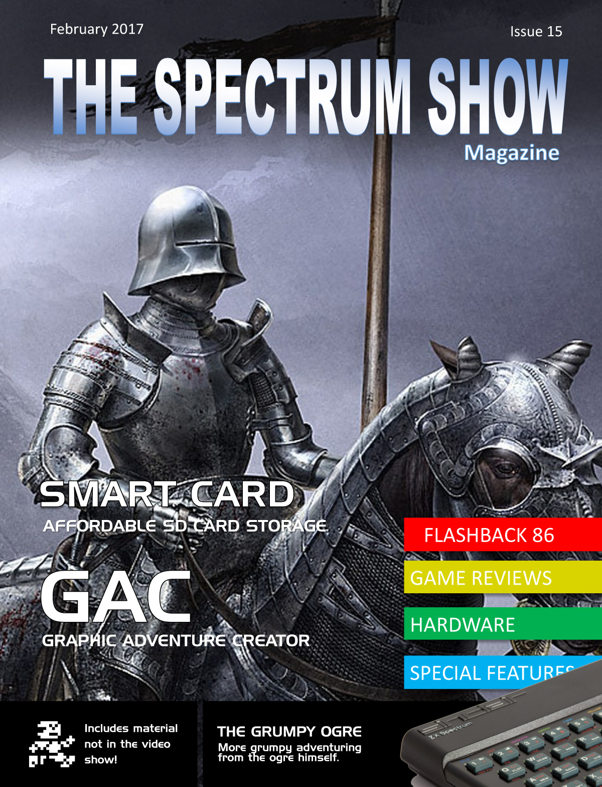 The Spectrum Show Magazine no 15