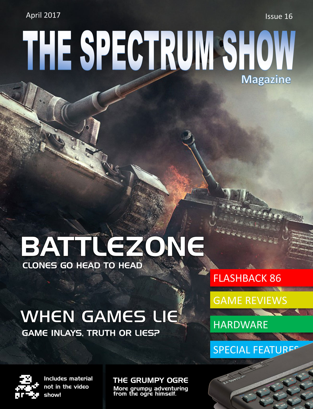 The Spectrum Show Magazine no 16