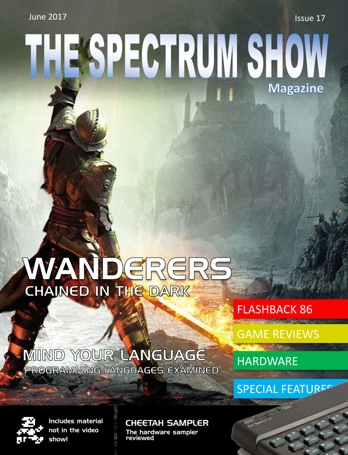 The Spectrum Show Magazine no 17