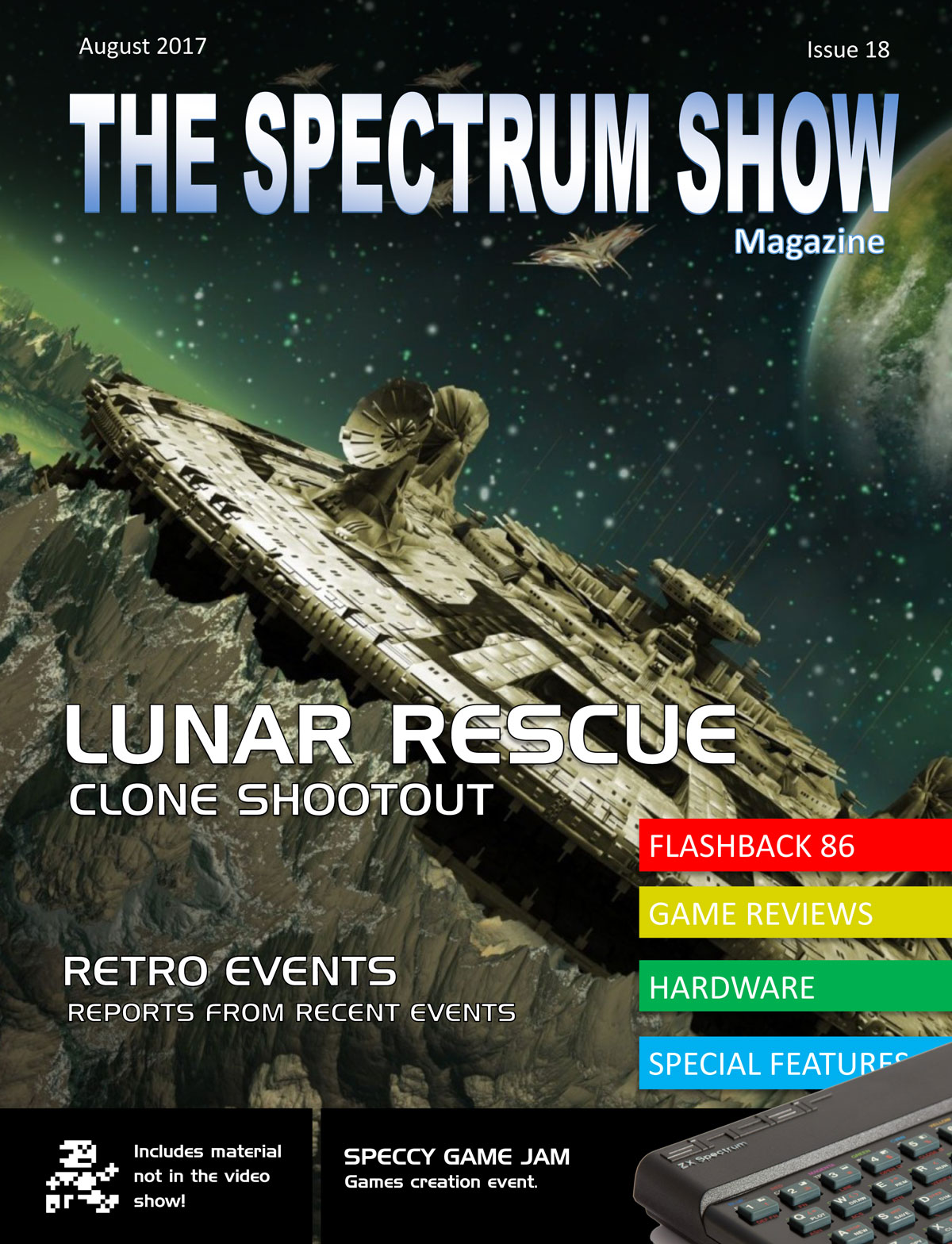The Spectrum Show Magazine no 18