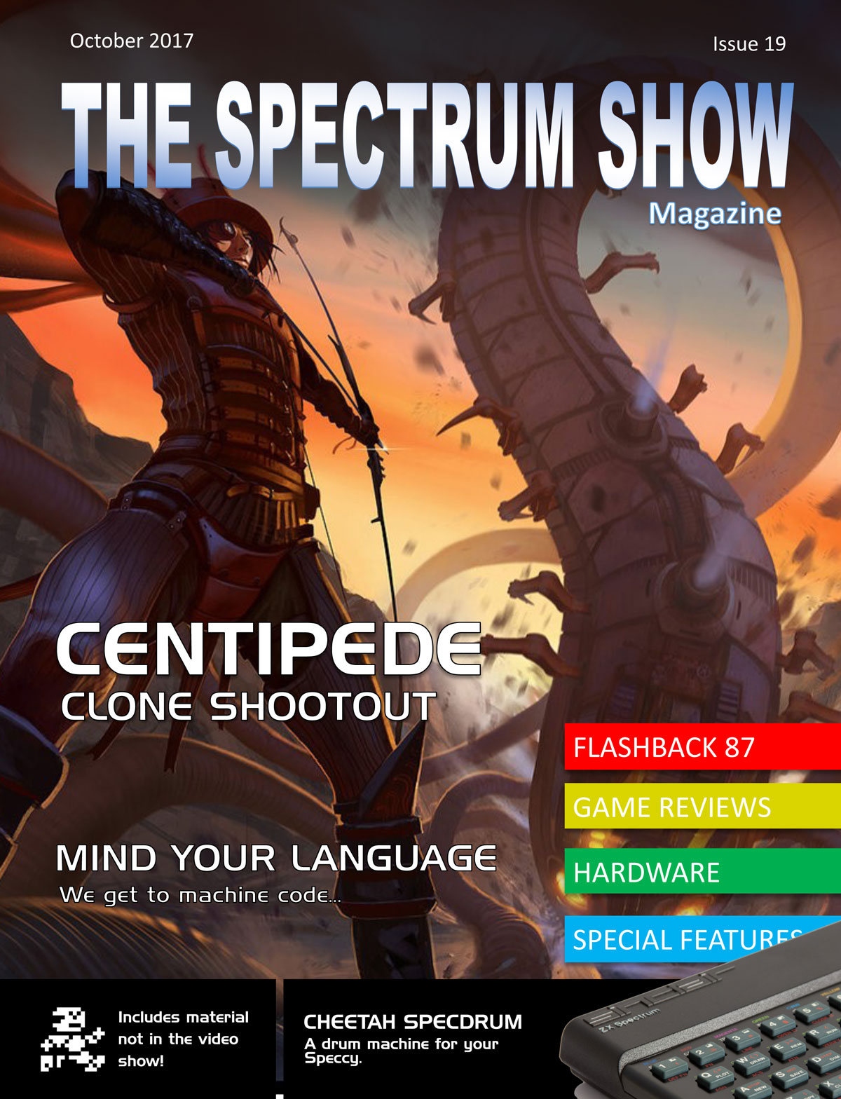 The Spectrum Show Magazine no 19