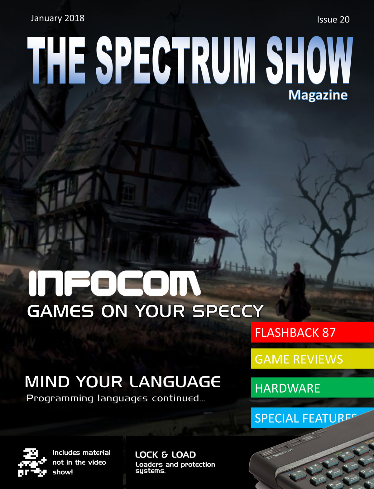The Spectrum Show Magazine no 20