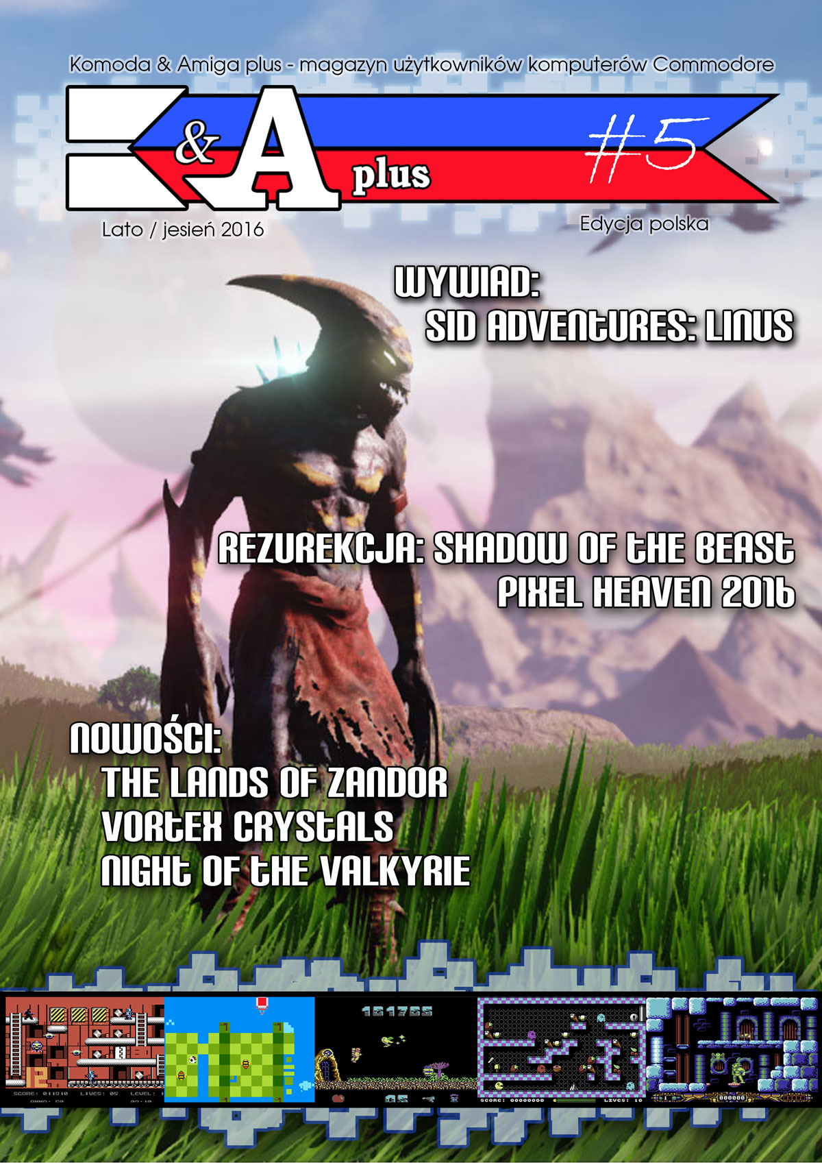 Kommodore And Amiga Plus Cover no 5